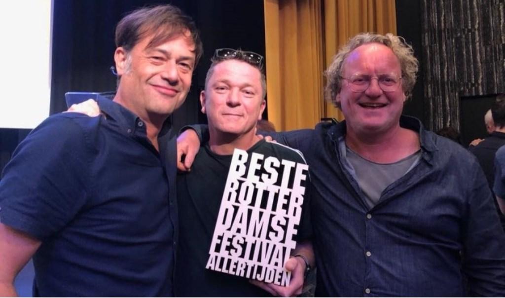 Jasper Scholte, links naast zakenpartner Mark Rouwenhorst.  © Persgroep