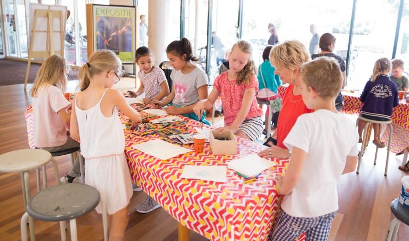 De zomer staat in Cultura grotendeels in het teken van workshops en tentoonstelling. (Foto: Jacqueline Imminkhuizen)