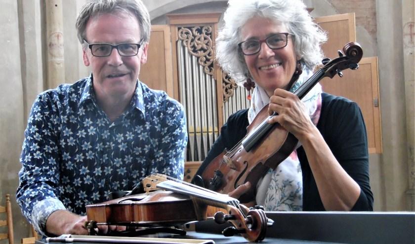 Duo Miriam van Dixhoorn en Wim Ruessink