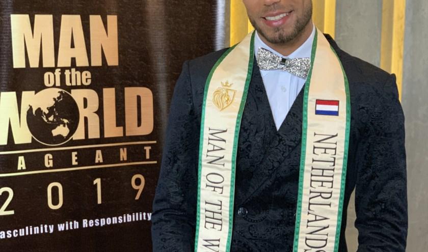 Lars Kortleven kijkt met een goed gevoel terug op de verkiezing van de mooiste man van de wereld met uiteindelijk een zesde plaats.