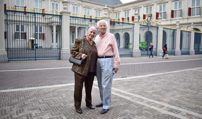 Paul van Gorcum en zijn vrouw Lenie waarmee hij al 60 jaar getrouwd is.