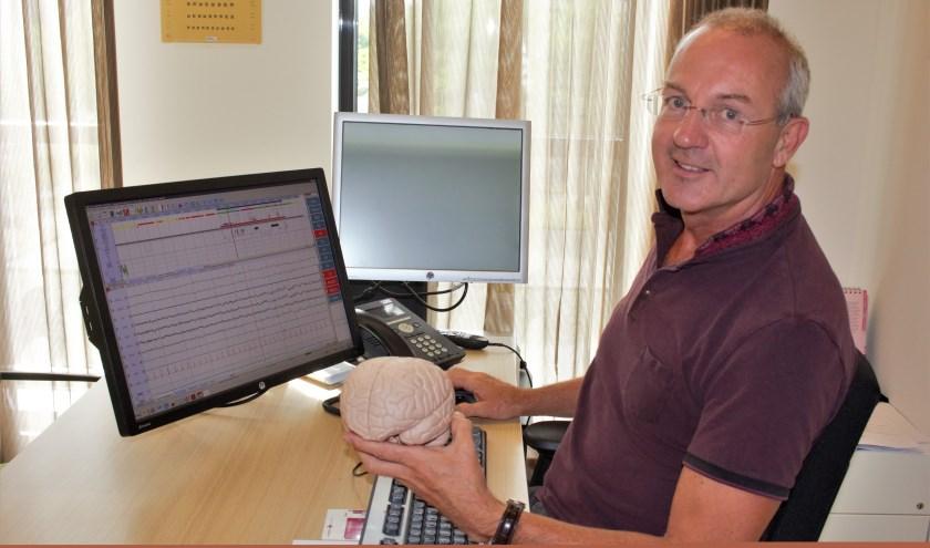 Neuroloog Thom Timmerhuis is de eerste somnoloog van het Jeroen Bosch Ziekenhuis. Hij helpt mensen met slaapproblemen, niet alleen op neurologisch gebied (hersenen en zenuwen), maar op alle vakgebieden.