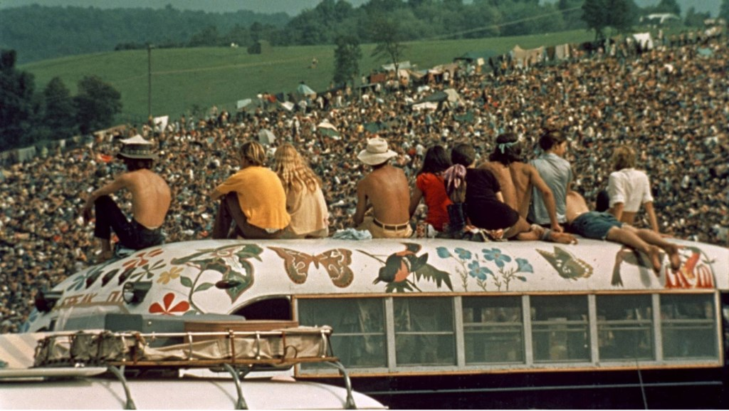 Three days of peace and music: de documentaire Woodstock is eenmalig terug in de Nederlandse bioscopen. ZINema draait hem zondag. Foto:  © Persgroep