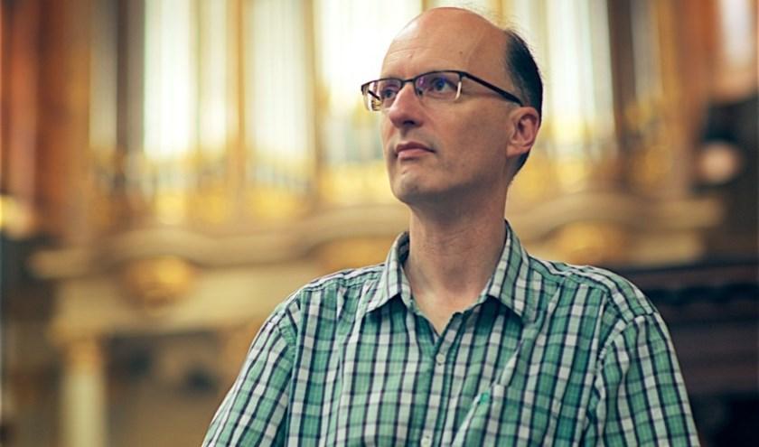 Organist Pieter van Dijk