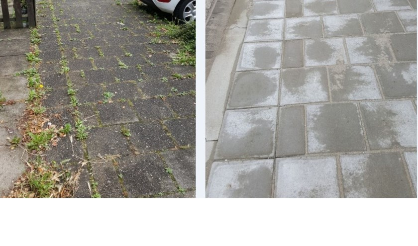 Voorthamstraat een verschil in de bestrating
