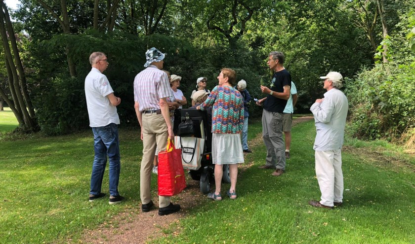 Op dinsdag 30 juli was de natuuractiviteit in het Reijerpark.