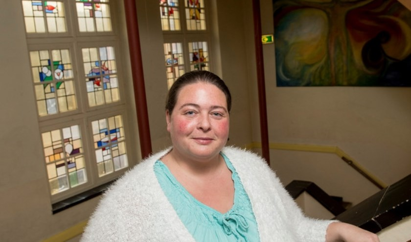 Noortje Dikken vocht ruim twee jaar lang voor de komst van een vrije school voor basisleerlingen in Lochem. (foto: Kevin Hagens)