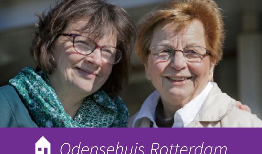 Moeder en dochter (vrijwillige modellen voor onze stichting)