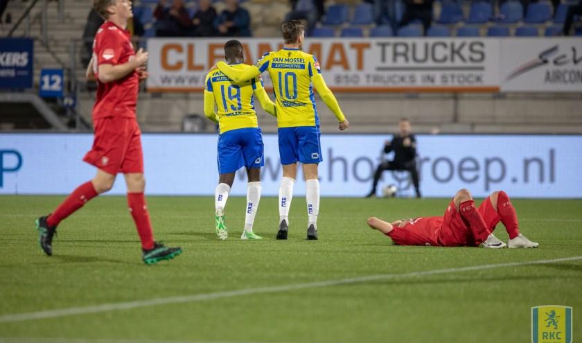 RKC wacht zondag een krachtmeting met FC Twente. De laatste overwinning  van RKC op de Tukkers staat nog vers in het geheugen. Op 1 april van dit jaar won RKC in Waalwijk met 4-1.