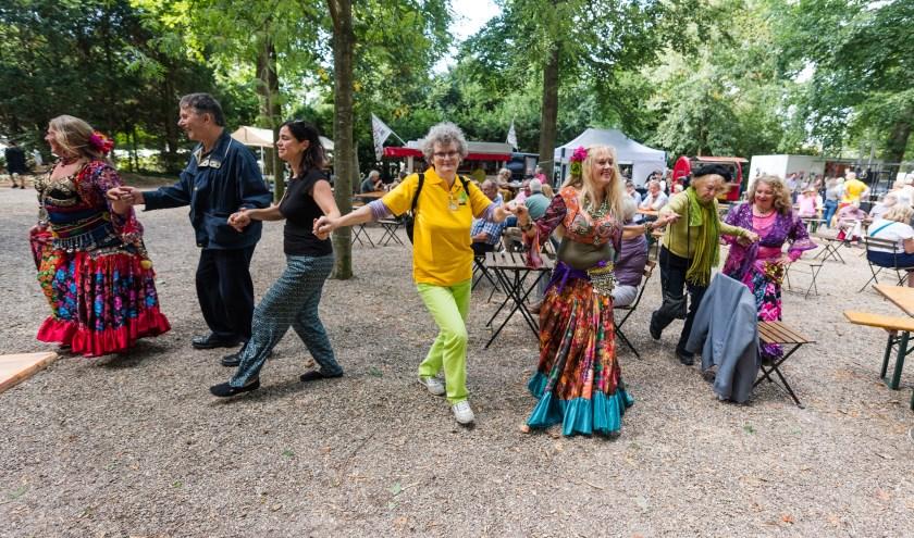 Walk Art Markt van  Cultuur Zeist op de 2de zaterdag in Augustus