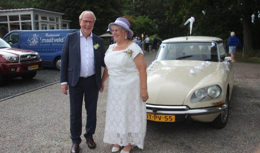 Aleida Lukaart en Wil van Engeland zijn bij 't Maatveld in de echt verbonden