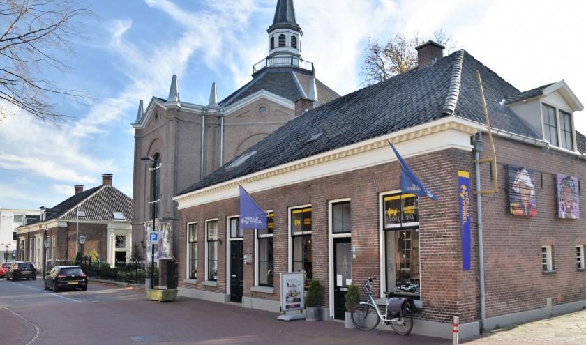 Het pand aan de Von Heijdenstraat waarin nu de Wereldwinkel is gevestigd.