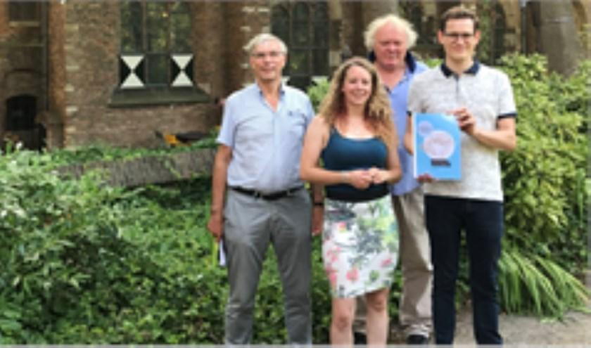 vlnr leden werkgroep: Wim van Leeuwen, Fleur den Herder, Jan Brouwer en Marc Boer.