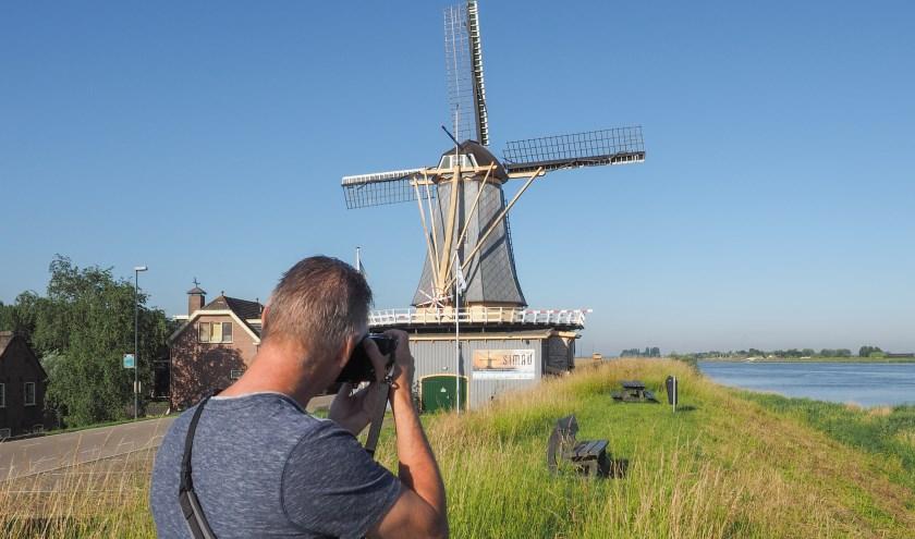 Joost Verweij in actie. (Foto: Joost Verweij)