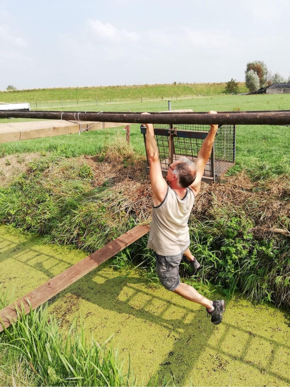 Henk in actie Foto: coby zaayer © Persgroep
