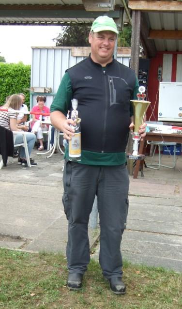 Jan van Brakel was de gelukkige winnaar.