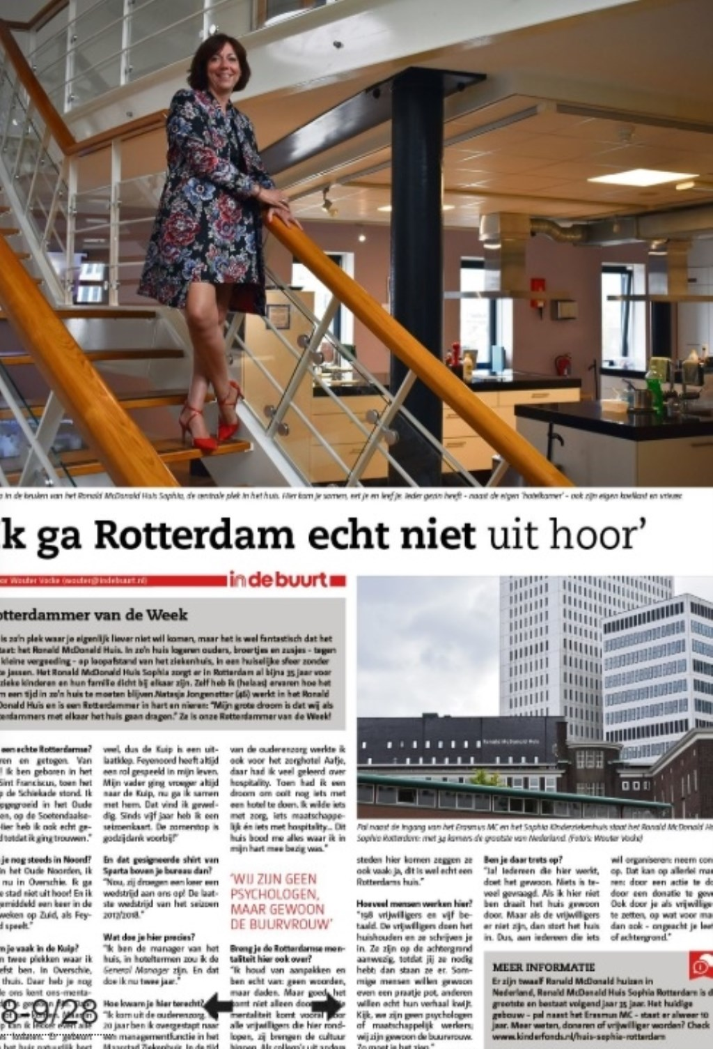 De Rotterdammer van de Week van vorige week.  © Persgroep