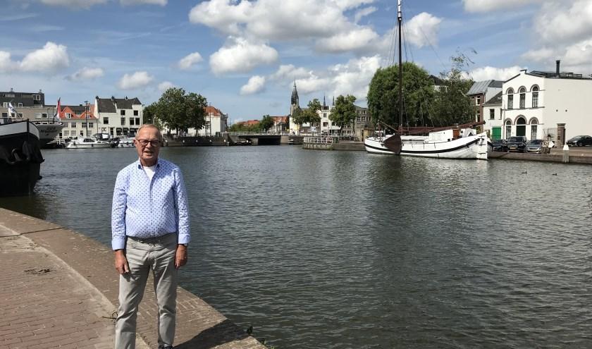 Tom Gerritzen is blij dat hij in Delft woont.