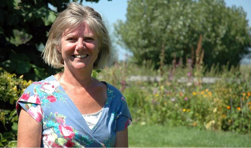 """Liesbeth van Bemmel: """"We hebben ook dropplant, heel lekker voor in de thee."""""""