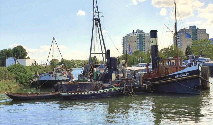 Het Delfshaven van Schiedam.