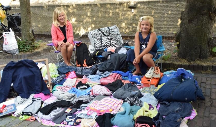 Op beide Vestingdagen is er een kleedjesmarkt. (Foto: Anja van Boven)