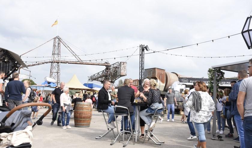 Rrrollend Foodtruckfestival is vaste gast op GOUDasfalt. Foto: Marianka Peters