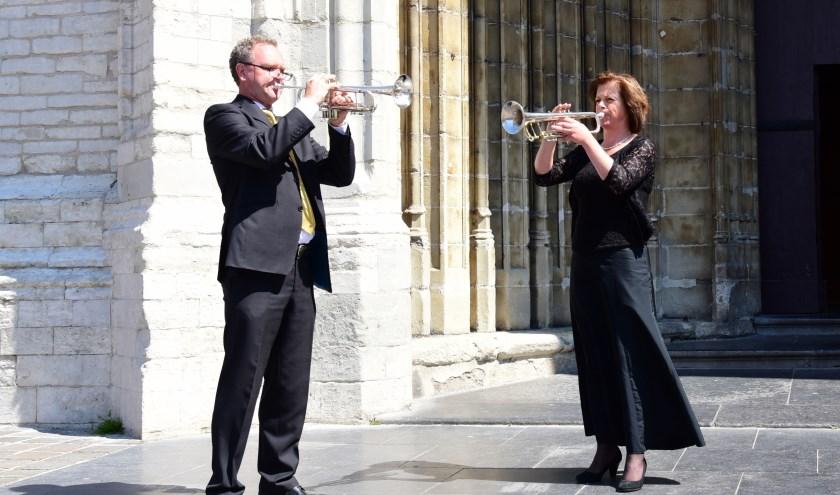 trompettisten Arjan & Edith Post