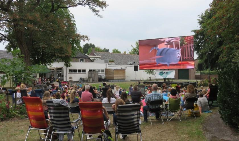 Derde bioscoopmiddag- en avond op zaterdag 17 augustus in Wanroij. (persfoto)