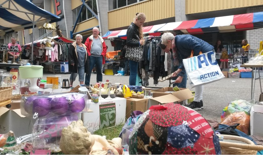 Aanstaande zondag is er weer een grote rommelmarkt bij het Willem II Stadion in Tilburg.