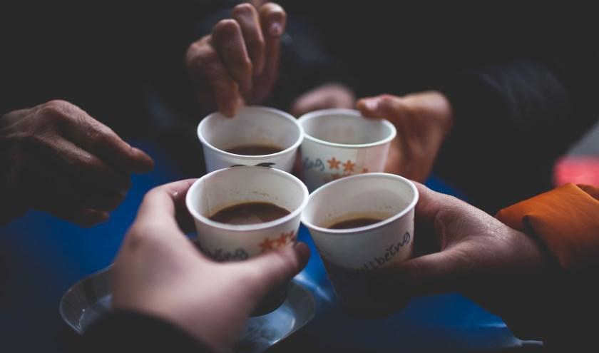 4 kopjes koffie