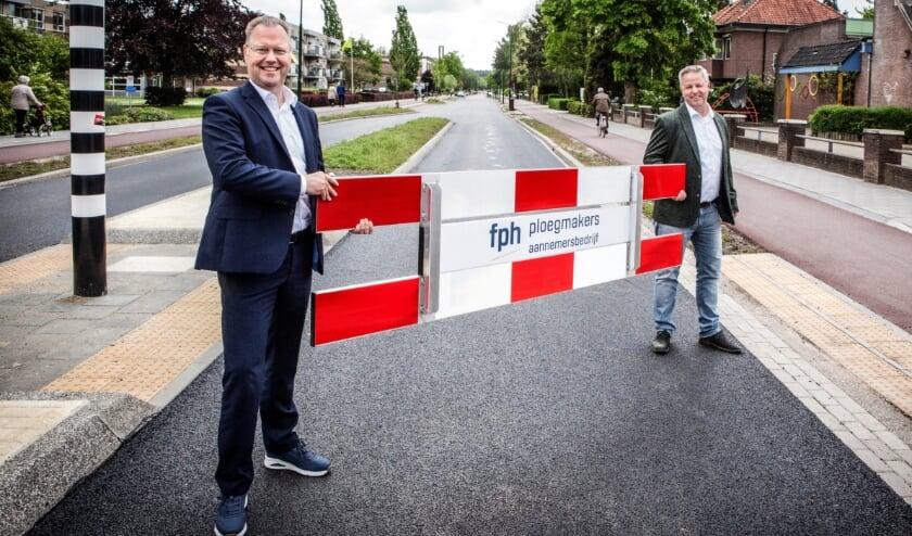 Werk aan de Kerkewijk in Veenendaal grotendeels afgerond