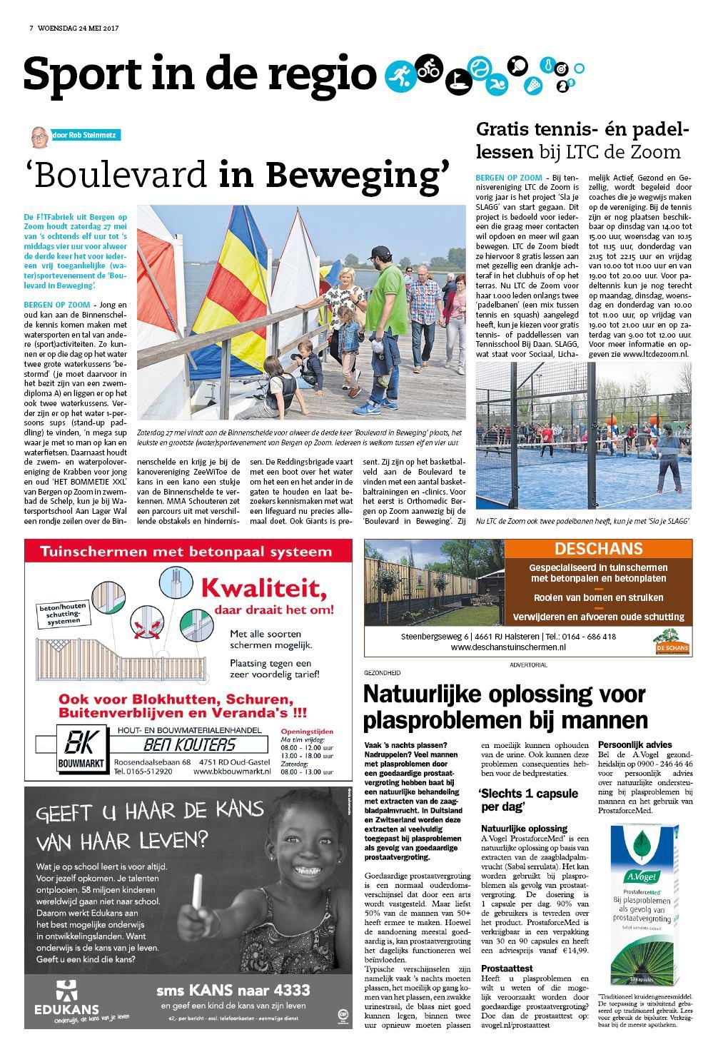 0eb5be2d231486 Gazet Bergen op Zoom 24 mei 2017