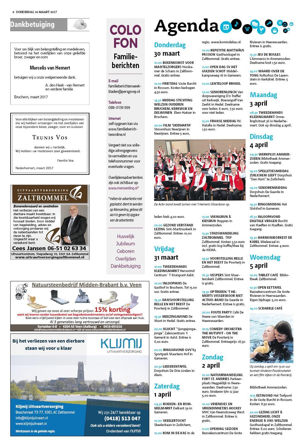 Weekblad de toren zaltbommel online dating