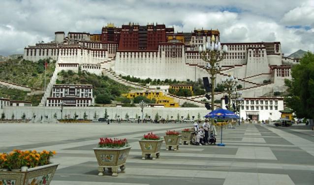 Het paleis van de Dalai Lama in Lhasa  | Fotonummer: 204a66