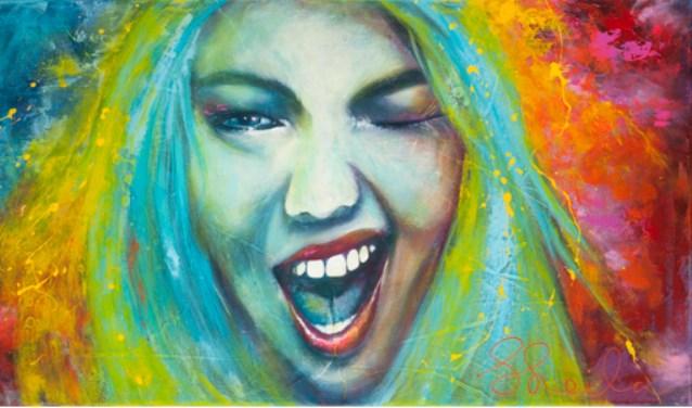 Blink!; werk van Sheila Haasnoot   | Fotonummer: 709792