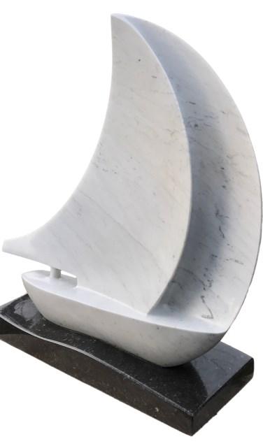 'Windkracht 5', een beeld van Kitty Tijbosch    Fotonummer: f20d76