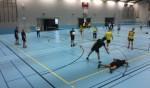 Vaandelteam Badminton Club Lieshout gevloerd