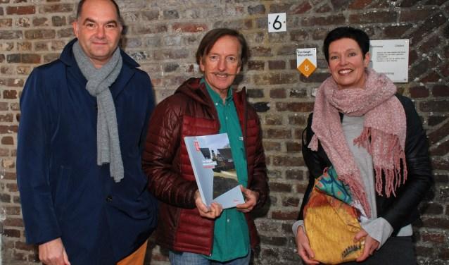 Vlnr: Frank van den Eijnden, Pieter Sanders en Monika Slaets   | Fotonummer: 4c9b17