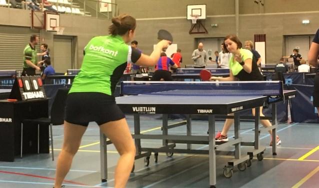 Eva Verrijt in actie tijdens de Studentenkampioenschappen   | Fotonummer: 894822