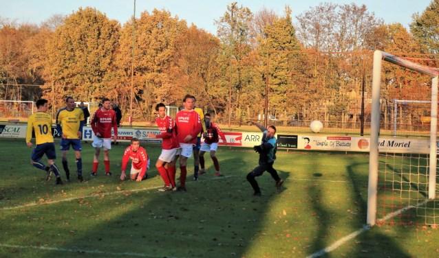 De 0-1 tegen SJVV  | Fotonummer: 5f07f9