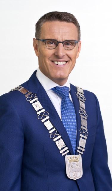 Burgemeester Frank van der Meijden  | Fotonummer: 5eba03