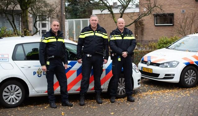 Vlnr: Gerrit van Zanten, René Jansen en Thijs Scheerooren  | Fotonummer: 025a3a