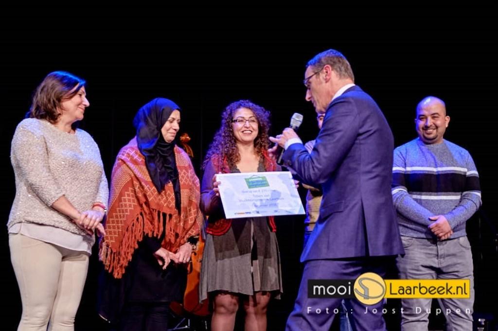 in multifunctioneel centrum de Dreef in Aarle-Rixtel werden de laarbeekse complimenten vrijwilligerswerk uitgereikt Foto: Joost Duppen © deMooiLaarbeekkrant