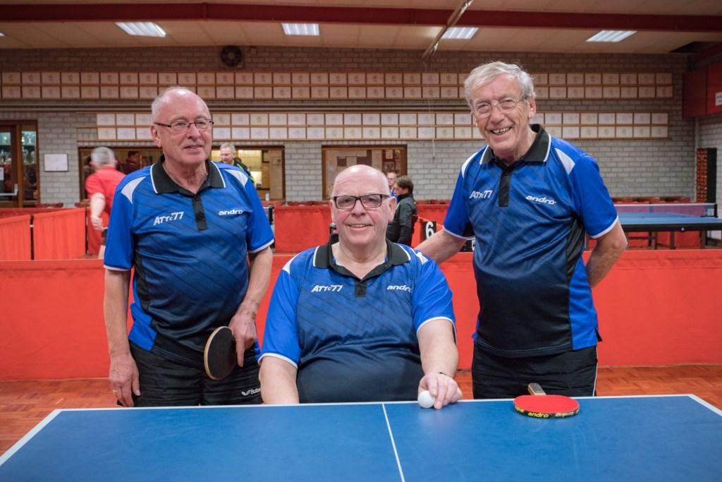 Team 3, vlnr: Karel van der Putten, Henk van der Bruggen, Albert Scheepers   © deMooiLaarbeekkrant
