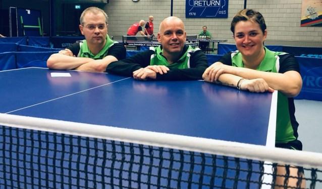 Team 2: Joost van Goch, Jeroen Engelhart en Rowena de Haas   | Fotonummer: 132605