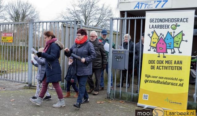 Archieffoto Gezondheidsrace Laarbeek 2017: ATTC'77 hield een wandeltocht   | Fotonummer: 45ec2a