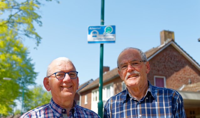 Frans Jansen (l) en Jan Zaagman (r)   | Fotonummer: 3ec7a8
