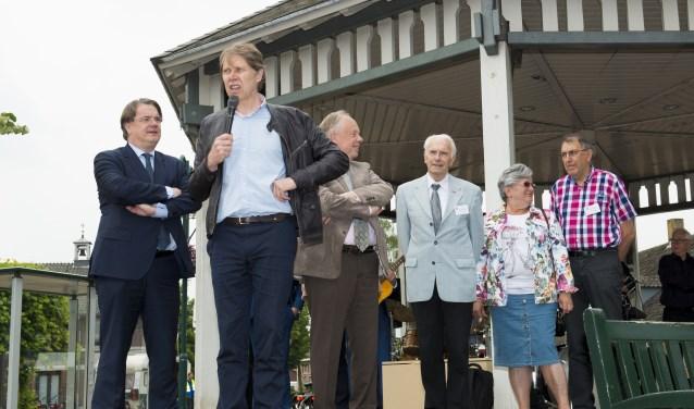 Wim Daniëls bij het Brabants Dialectenfestival in Lieshout   | Fotonummer: 693ef0