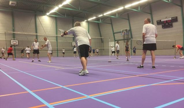 Badminton; een leuke sport voor jong en oud  | Fotonummer: a296d1