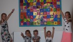 Kunstwerk Koningsdag te bewonderen in Buurthuis